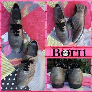Born Wingtip Oxfords
